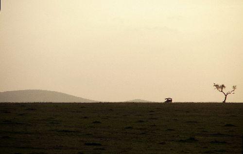 Soleil couchant-Masai Mara-Déc 09