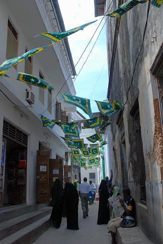 Rue aux fanions - Stone Town