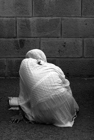 Face au mur, la tranquilité