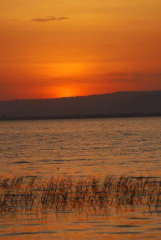 Tombée du jour - Lac Awasa - Octobre 2010