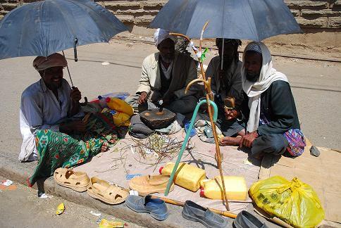 Chanteurs éthiopiens - Mercato - Octobre 2010