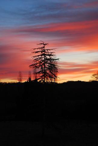 Soleil levant en pays basque - Déc 10