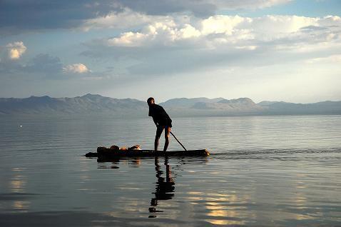 Sur le lac Chamo - Arbaminch