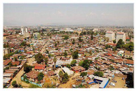 Noyau friable au coeur de la capitale éthiopienne