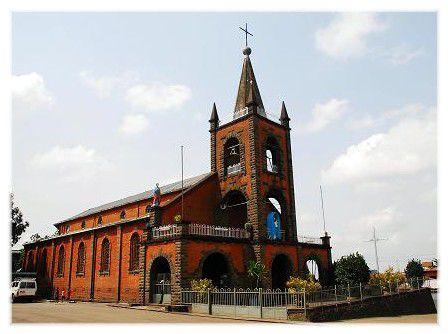 Cathédrale d'Addis-Abeba - Piassa
