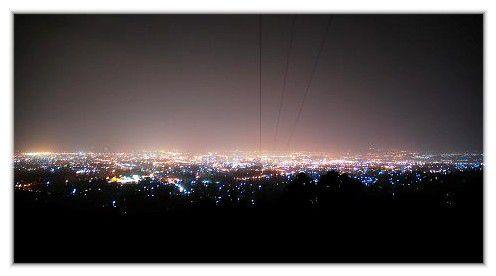 Addis-Abeba vue de nuit