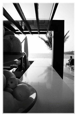 BLU RADISSON - Bar extérieur ; vers la piscine