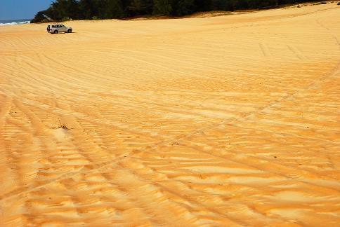 Les dunes du Paris-Dakar