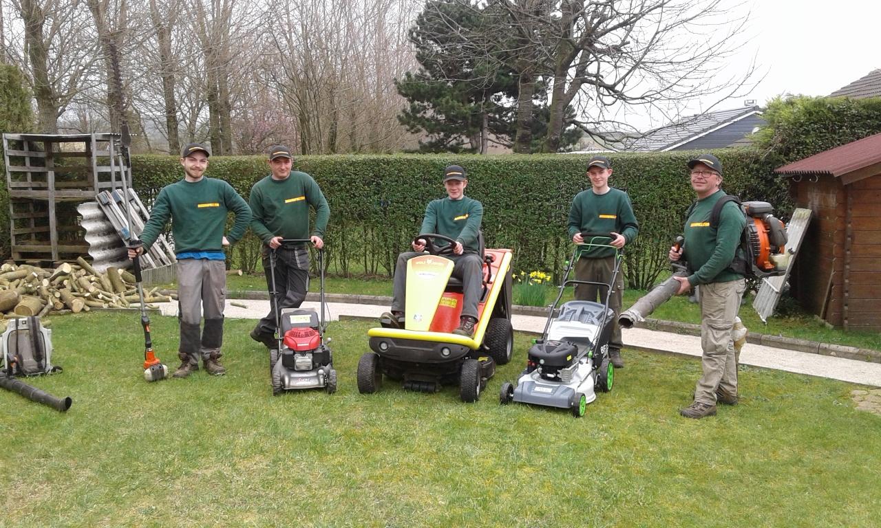 Entretien de jardins en cheque emploi service for Espaces verts services