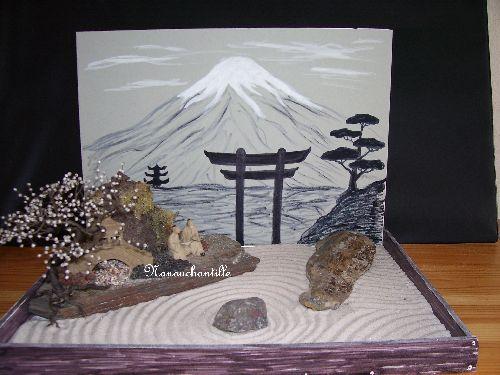 Maquette pour exposé sur le Japon