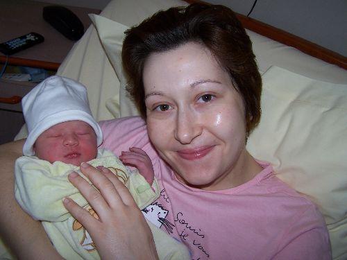 26 Mars 2006 : Ma fille est née !