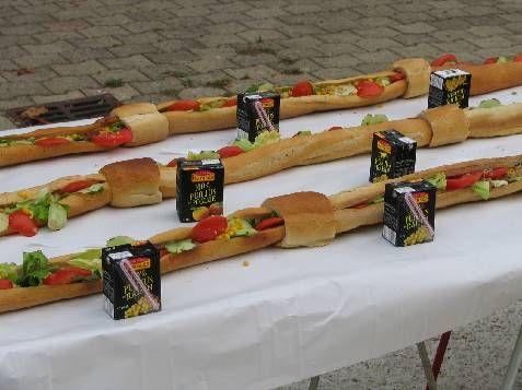 le plus grand sandwich du monde