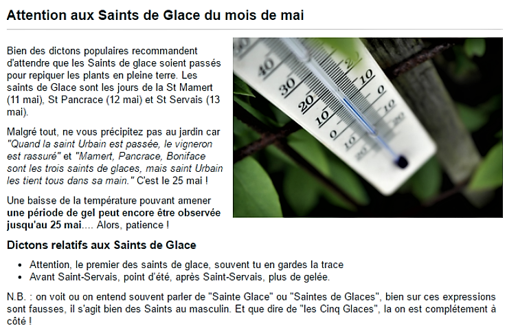 Date des Saints de Glace du mois de mai 2017 attention au gel !.png