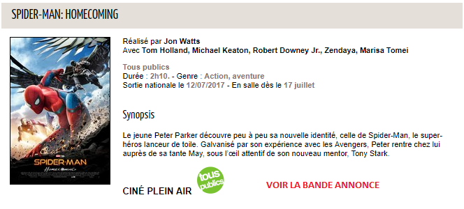 Spider-Man- Homecoming au Vergt - Ciné-Passion en Périgord.png