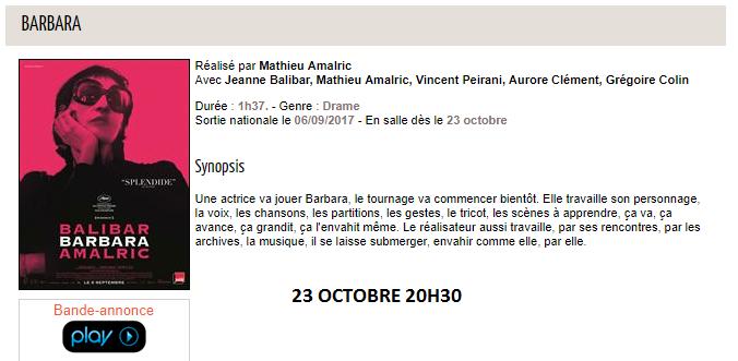 Barbara au Vergt - Ciné-Passion en Périgord.png