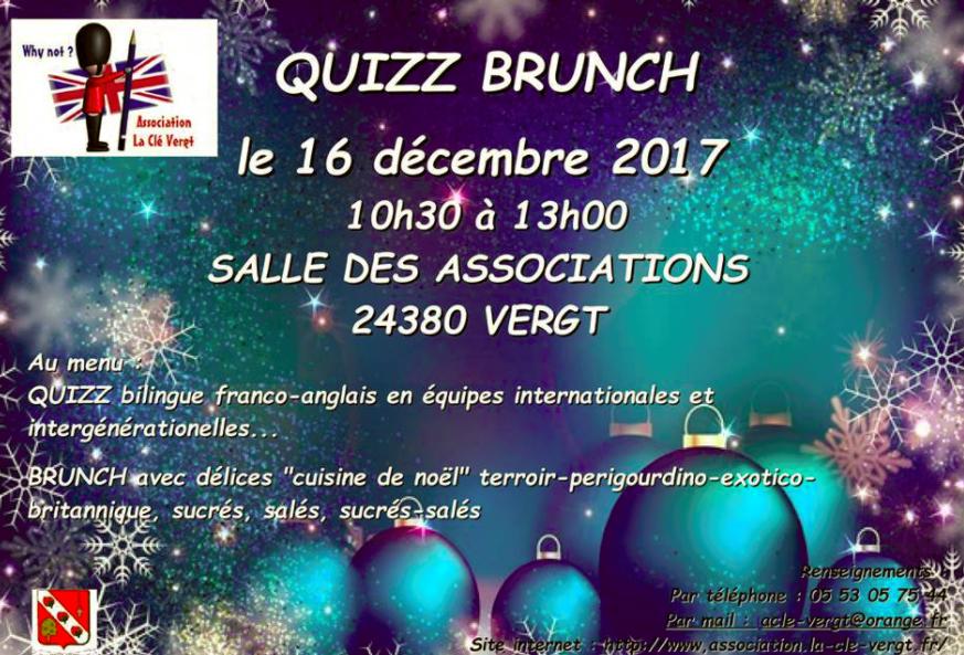 Cle Vergt - _Samedi prochain à La Clé aura lieu le QUIZZ BRUNCH....png