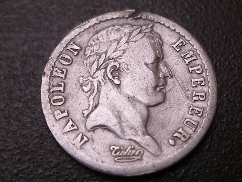 Demi-franc Napoléon Ier 1808 D. 190535090127123707
