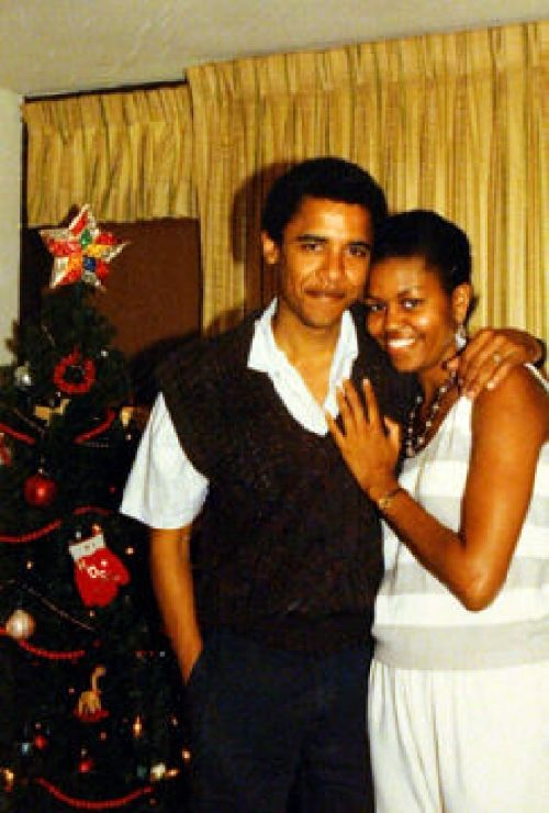 20.01.2009 - Mr Barack OBAMA et Mme Michelle ROBINSON