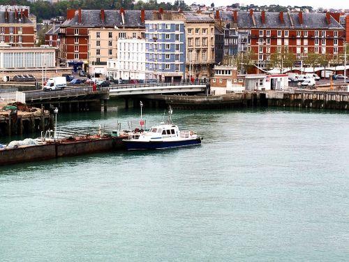 Le Havre : vue depuis le ferry