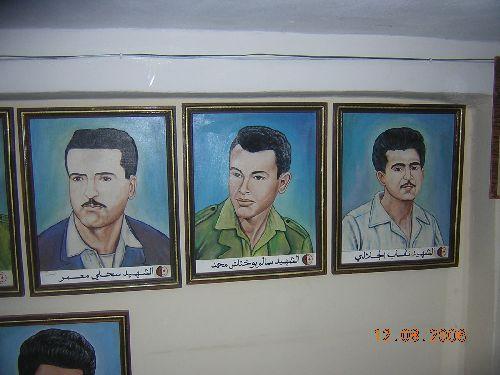 Chahid Sahli Mâamar  -  Chahid Salem Boukhtache Mohamed - Chahid  Neguab Djilali