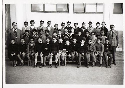 Photo de classe 1953 - Ecole Lallement ORLEANSVILLE - EL ASNAM - CHLEF
