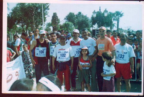 Souvenir du Marathon organisé à Chlef