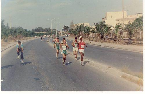 marathon de chlef sur la route nationale n° 4