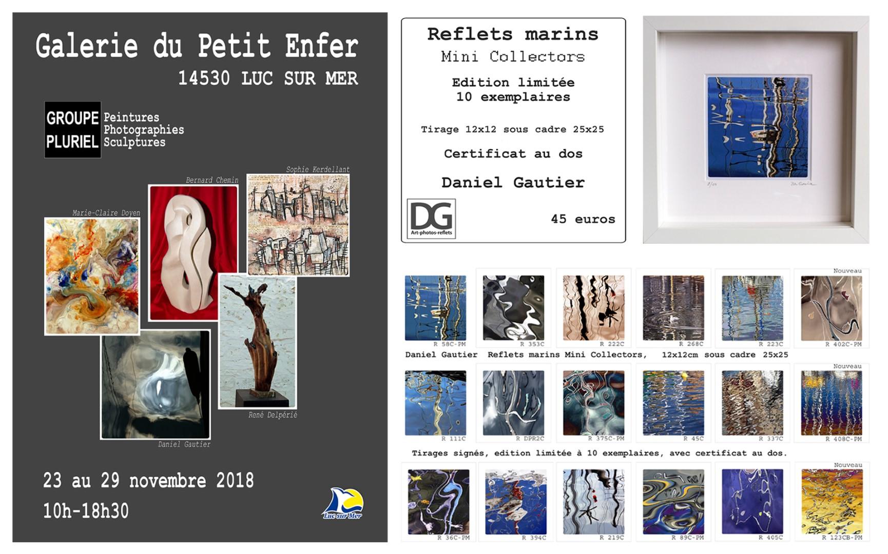 Mini Collectors + affiche groupe pluriel Luc sur mer 2018 (Grand).jpg