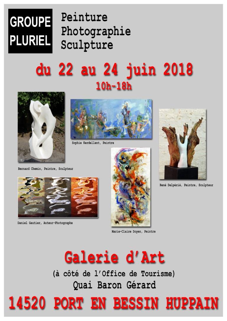 Troisième et dernière expo du mois de juin 2018
