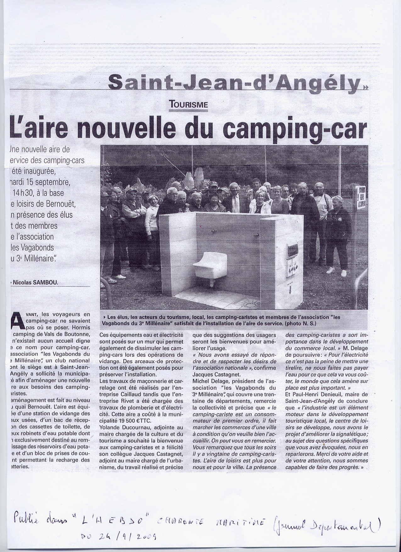0009 Septembre 2009 Inauguration de l'aire de St Jean d'Angély (2).jpg
