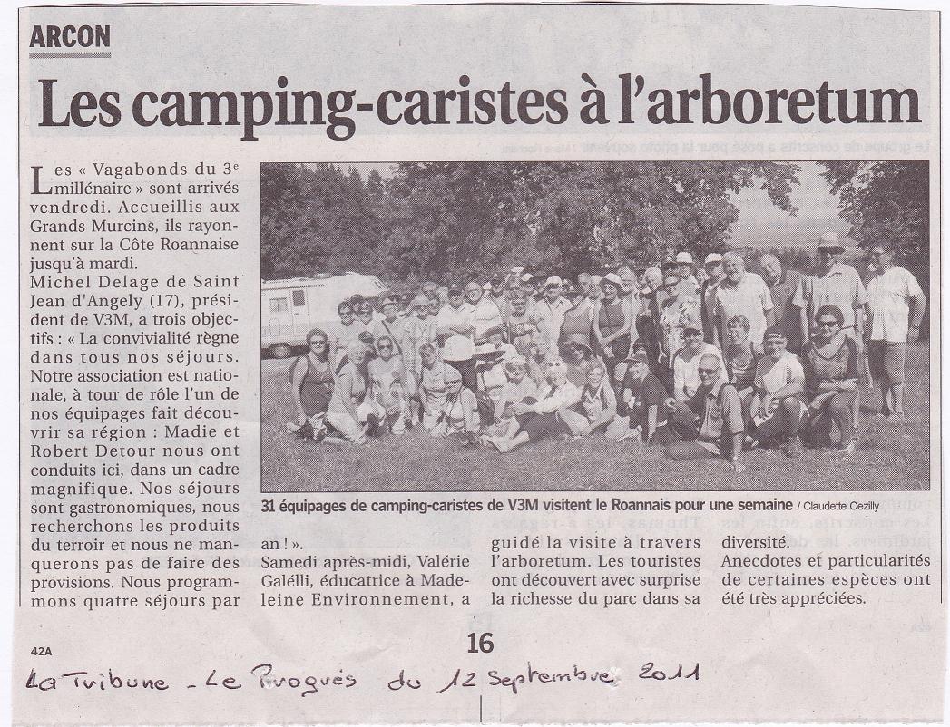 0012 Arcon. La Tribune - Le Progrès 12 septembre 2011.JPG