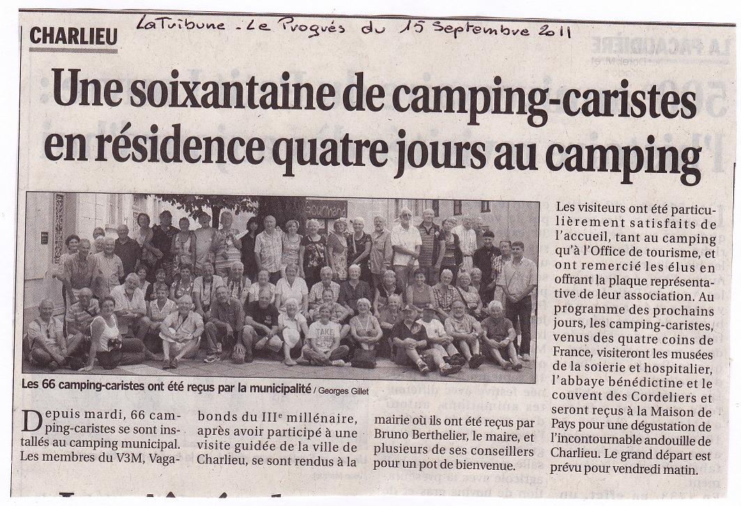 0013 Charlieu La Tribune - Le Progrès 15 septembre 2011.JPG