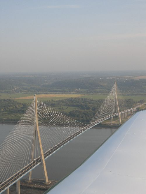 The Normandy's bridge very near ringing stations !