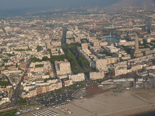 Le Havre city near of the big marsh of Seine estuary !