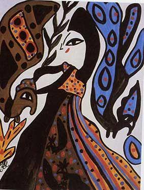peinture de l'artiste BAYA Mahieddine