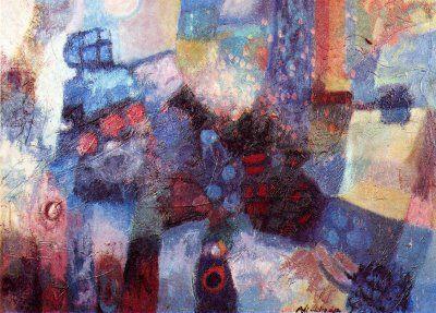 Entre la réalité et la fiction  de l'artiste ALI KHODJA