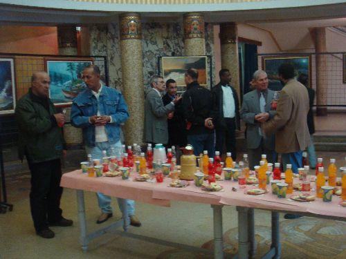 Vernissage de l'Expo de l'artiste Ferdagh Tayeb