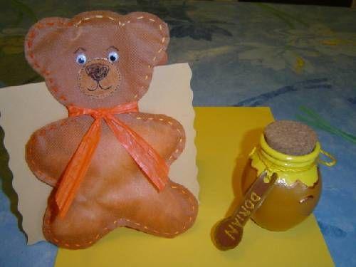 Pot de miel Baptême DORIAN (2.00 décoré sans dragée)