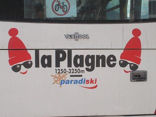 Bus de La Plagne