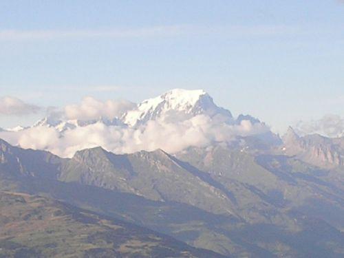 Le mont Blanc d\'Aime La Plagne ( 73 )