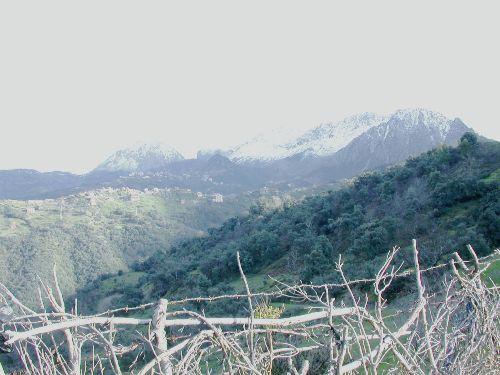 vue sur le village d'ait daoud - taghiwant n'iyataffen