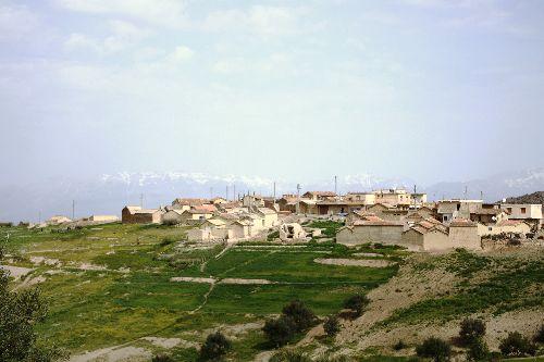 Vue sur le village d'at  Abdellah Ouali