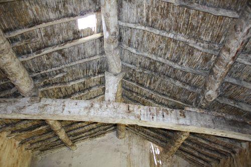 - Toiture d'une ancienne maison à Hélwan