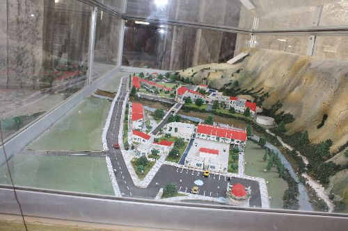 - Maquette de la station thermale Faraksen de hammam Ksana