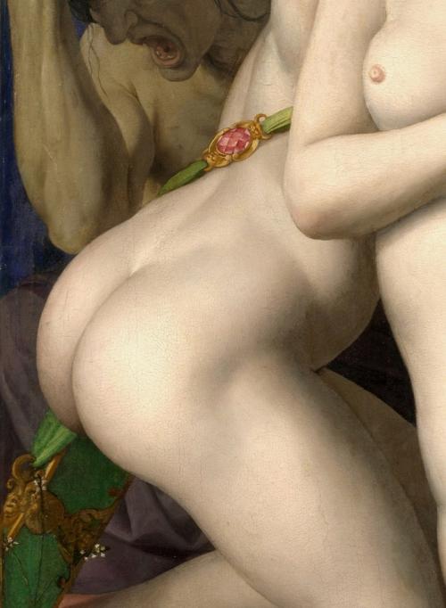 8 Bronzino_Triomphe de Vénus NAT  dét fesses de Cupidon.jpg