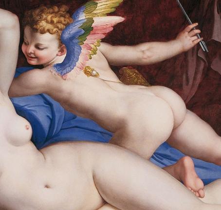 4 Bronzino_Venus_Cupido_and_Satyr _Roma palazzo Colonna - dét.Cupidon   bd+.jpg