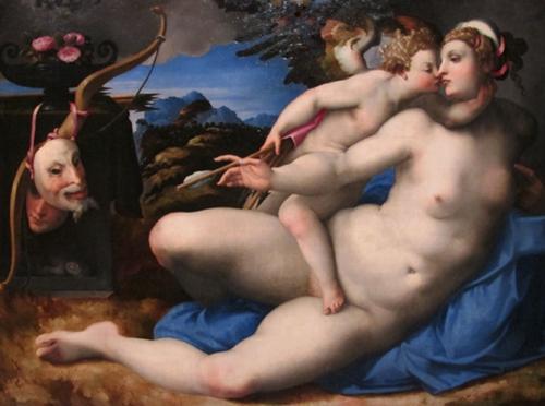 5 Hendrik van de Broeck_(D'après Michelangelo)Vénus et Amour   bd.jpg
