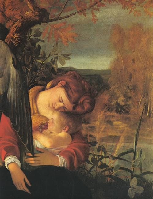 Caravage_Mère et bébé endormis  BD.jpg