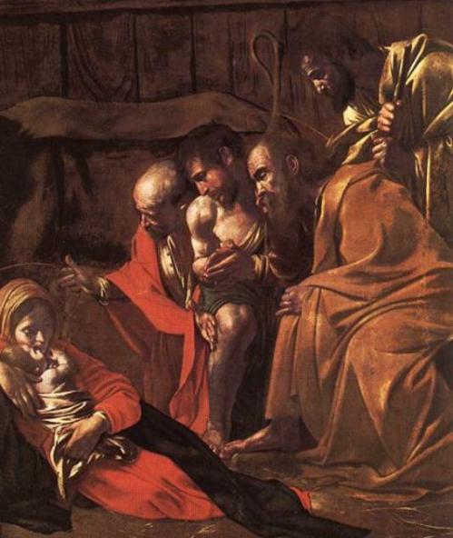 Caravaggio_Adoration des bergers partic   BD.jpg