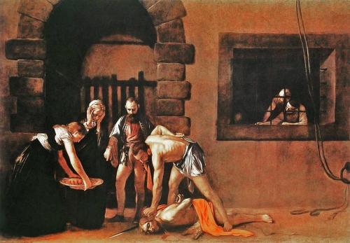 2 Caravaggio_Décollation de Jean Baptiste  BD.jpg